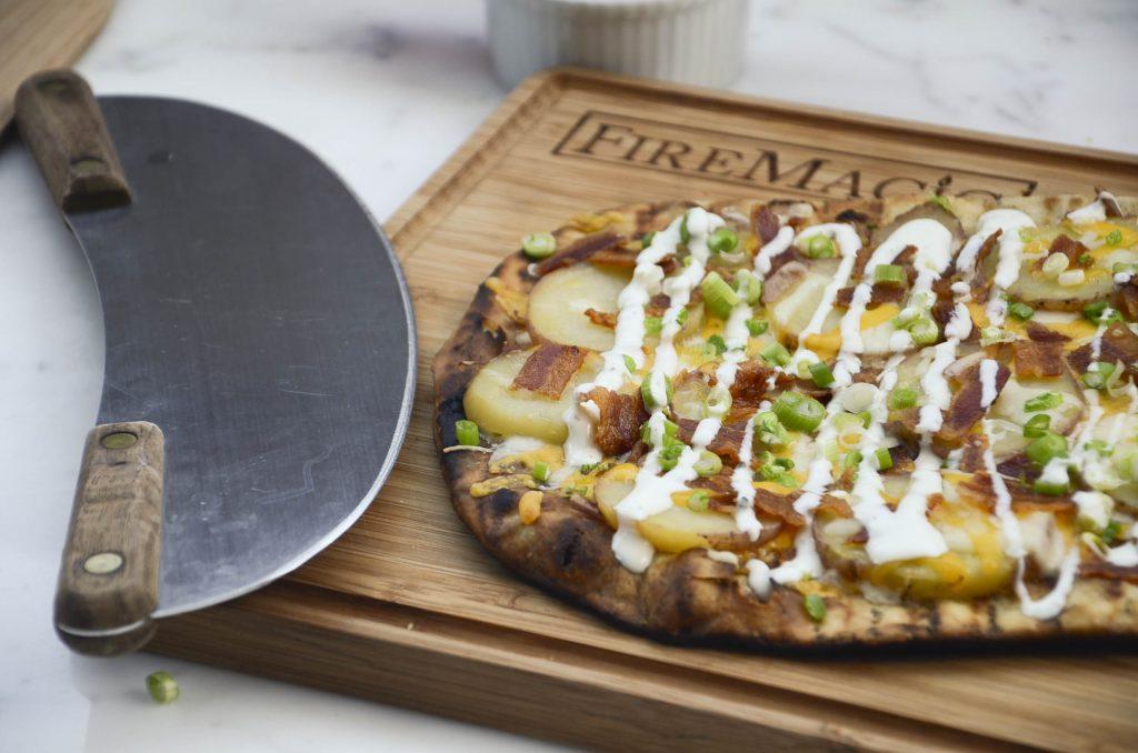 Pizza on Fire Magic pizza stone