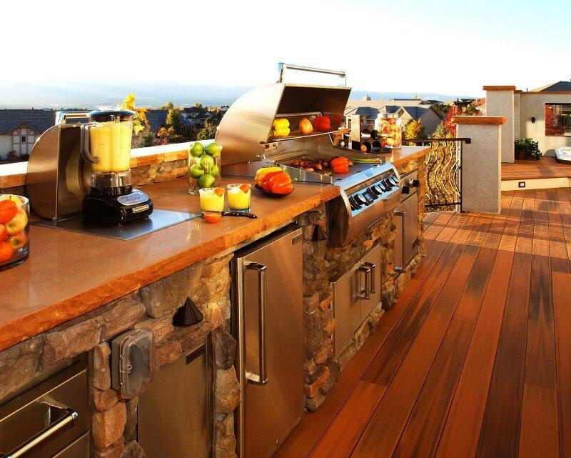 Dream Outdoor Kitchen